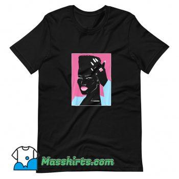 Original Grace Jones Photos T Shirt Design