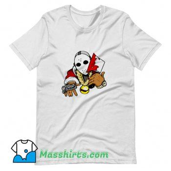 Original Jason Voorhees Parody Rapper Hip Hop T Shirt Design