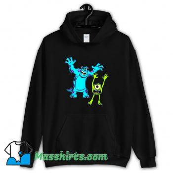 Original Sulley And Mike Monsters University Hoodie Streetwear