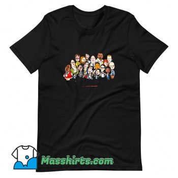 Original The Office Cartoons Character T Shirt Design