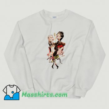 Original The Rolling Stones Cartoon Sweatshirt