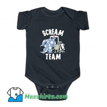 Pixar Monsters University Scream Team Baby Onesie