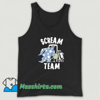 Pixar Monsters University Scream Team Vintage Tank Top