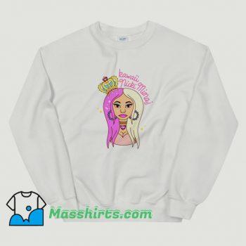 Queen Kawaii Nicki Minaj Funny Sweatshirt