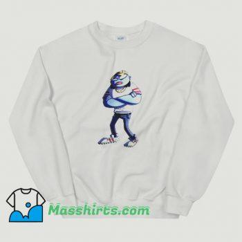 Rapper Gorillaz Art Vintage Sweatshirt