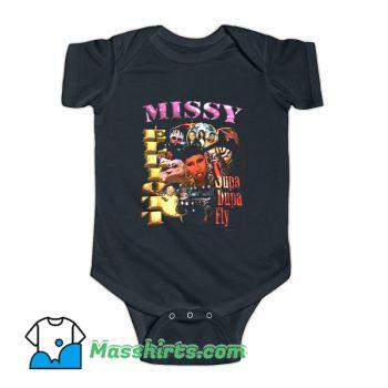 Rapper Missy Elliott Supa Dupa Fly Baby Onesie