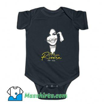 Rip Naya Rivera 1987 2020 Funny Baby Onesie