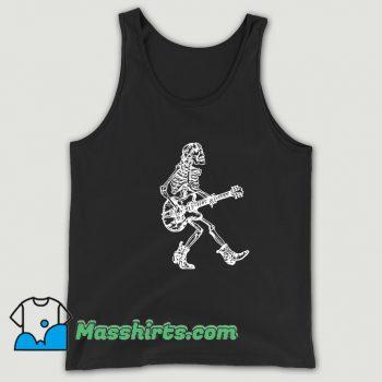 Seembo Skeleton Playing Guitar Tank Top On Sale