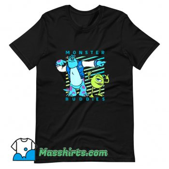 Sulley and Mike Wazowski Monster Buddies T Shirt Design