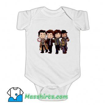 Supernatural Characters Baby Onesie On Sale