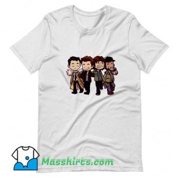 Supernatural Characters Classic T Shirt Design