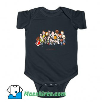 The Office Cartoons Character Baby Onesie