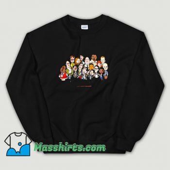The Office Cartoons Character Classic Sweatshirt