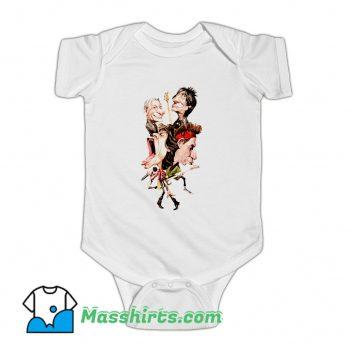 The Rolling Stones Cartoon Baby Onesie