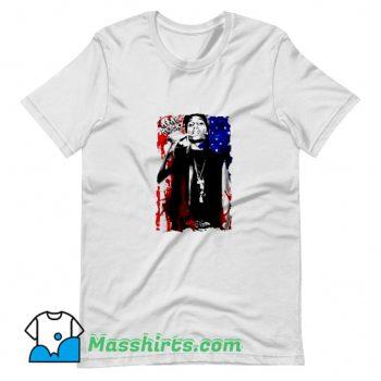 Vintage Asap Rocky American Flag T Shirt Design