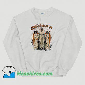 Vintage Halloween Obituary Sweatshirt