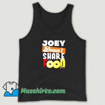 Vintage Joey Chestnut Doesnt Share Food Tank Top