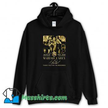 Vintage Mariah Carey Thank You For The Memories Hoodie Streetwear