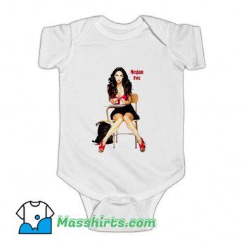 Vintage Megan Fox American Actress Baby Onesie