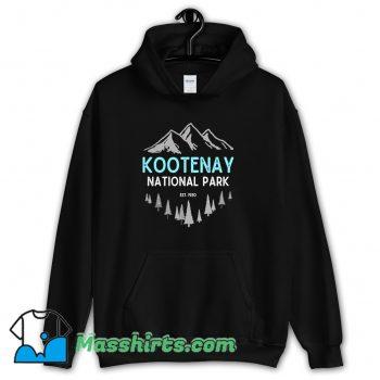 Vintage Mountains Kootenay National Park Hoodie Streetwear