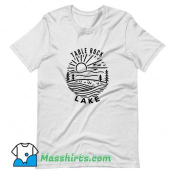 Vintage Table Rock Lake T Shirt Design