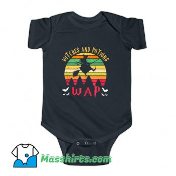 Wap Witches And Potions Baby Onesie