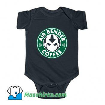 Air Bender Coffee Baby Onesie