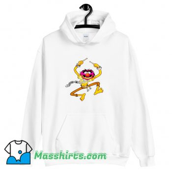 Animal Drummer The Muppets Show Funny Hoodie Streetwear