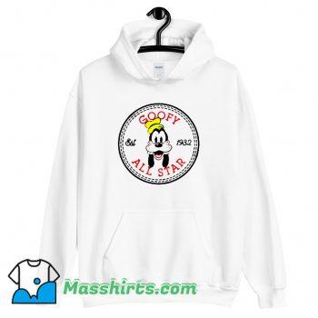 Awesome Goofy All Star Converse Parody Hoodie Streetwear