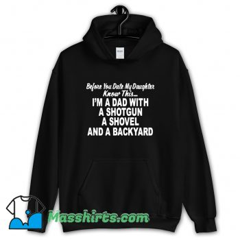 Awesome I Am A Dad With A Shotgun Hoodie Streetwear