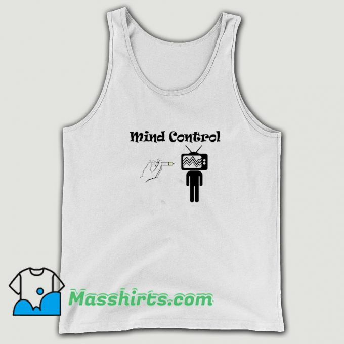 Awesome Mind Control Vaccinated Vaccination Tank Top