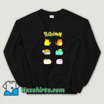 Awesome Pushemon Pokemon Sweatshirt