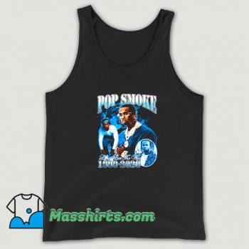 Awesome Rap Pop Smoke Live The Woo Tank Top