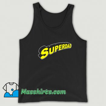 Awesome Superdad Father Day Tank Top