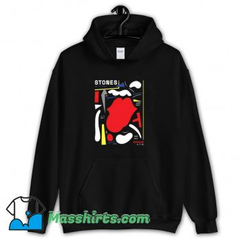 Awesome Warsaw The Rolling Stones Abstract Hoodie Streetwear