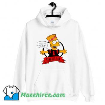 Bengals Fan Bart Simpson Hoodie Streetwear On Sale