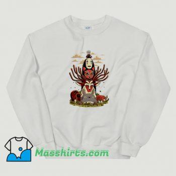Best Anime Manga Ghibli Totem Sweatshirt