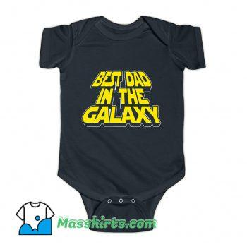 Best Dad In The Galaxy Baby Onesie