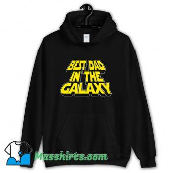 Best Dad In The Galaxy Hoodie Streetwear