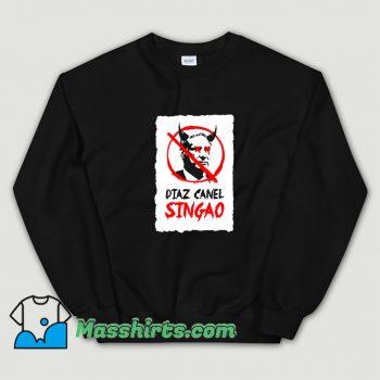 Best Diaz Canel Singao Patria Y Vida Sweatshirt