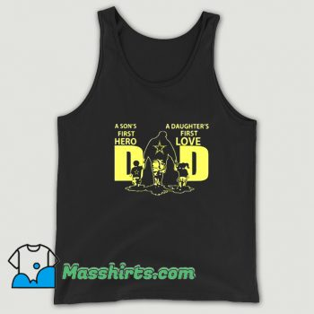 Best First Hero And Love Family Tank Top