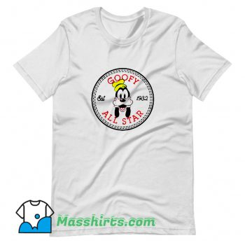 Best Goofy All Star Converse Parody T Shirt Design