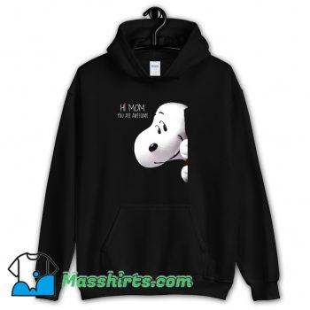 Best Greet Snoopy Mothers Day Hoodie Streetwear