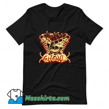 Best Hybrid One Eyed Mask Ghoul T Shirt Design