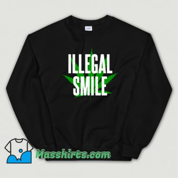 Best John Prine Illegal Smile Logo Sweatshirt