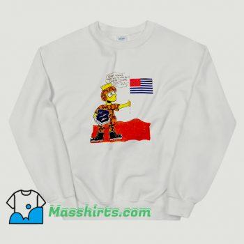 Best Operation Desert Shield Bart Simpson Sweatshirt