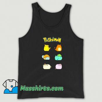 Best Pushemon Pokemon Tank Top
