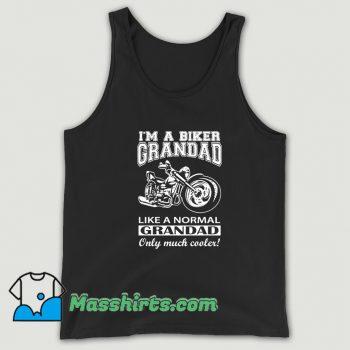 Biker Grandad Fathers Day Tank Top
