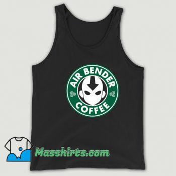 Cheap Air Bender Coffee Tank Top