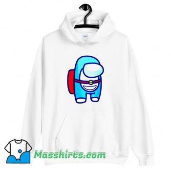 Cheap Among Us Doraemon Hoodie Streetwear
